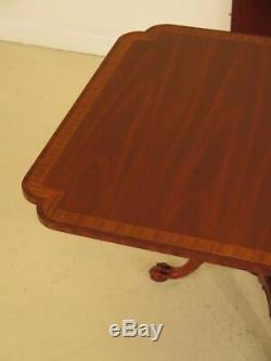 Lf37592 Hickory Chair Co. Clawfoot Acajou Table À Manger Chambre
