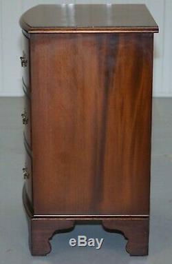 Meubles De Vintage 1960 Burton Ltd Flammé Table Acajou Côté Commode