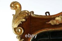 Miroir Console Rococo Antique Parcel Gilt Console Miroir Noyer 19 C