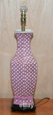Paire De Style Chinois En Céramique Lampes De Table Avec Feuille D'or Dorure De Tindle