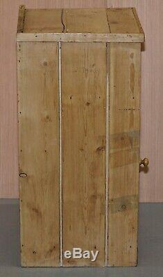 Paire Superbe De Table De Chevet Victorienne Pin Pot Rangements Ou Lampe Tables Vin