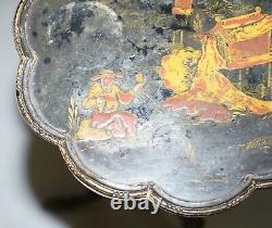 Petite Table À Vin Chinoise Laquée Chinoise Des Années 1940