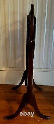 Rare Antique Ferguson Bros. 2 Tier Polding Ahogony Butlers Fin Tableau 1901 -1910