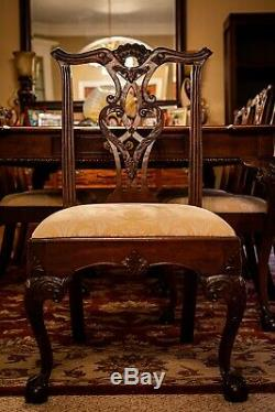 Rittenhouse Square Henredon Table À Manger Avec Chaises