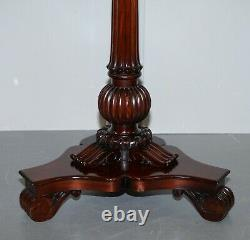 Rrp £12,000 Paire De Ralph Lauren American Mahogany Marble Topped Side End Tables