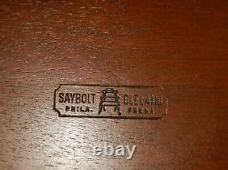 Saybolt Cleland Ahogany Table De Thé Philadelphia Table Ronde Lampe Stand