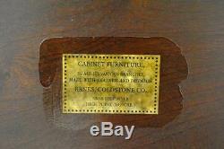 Serveur De Table Rectangulaire En Noyer Chippendale De Banks Coldstone Company
