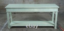 Stanley Stoneleigh Chinois Chippendale Acajou Sofa Console Table Boho Chic