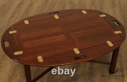 Stickley Chippendale Style Butlers Table De Café