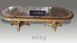 Stupéfiant & Magnifique Ensemble De Table Louis XVI De Style, 8 Pieds À 20 Pieds Plus
