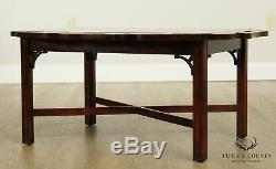 Style Chippendale Qualité Acajou Butlers Table Basse