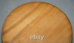 Sublime 1960's Solid Elm Ercol G Plan Folding Drop Leaf Coffee Or Side Table