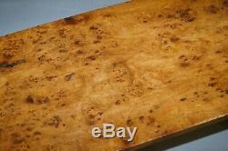 Super Rare Victorienne Une Planche Top Epic Burr Elm Burl Réfectoire Table À Manger