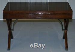 Superbe Restauré Rosewood Extension Table Sécretair Belle Vintage Feel
