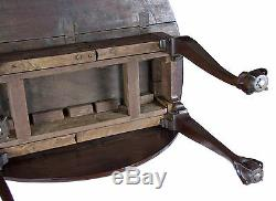 Swc-chippendale Drop Table Avec Pieds Ouverts, Griffe Et Boule, Newport, V. 1765