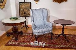 Swc-tilt-top Table Avec Birdcage, Newport, V. 1760-80