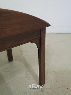 Table 48120ec Pennsylvanie Maison Chippendale Cerise Butler Café