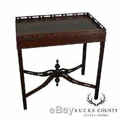 Table À Thé En Acajou Flamand De La Collection Charleston Historic