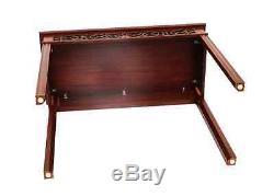 Table Console Chippendale Fretwork Par Bartley