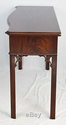 Table Console Console Acajou Chippendale Style Williamsburg