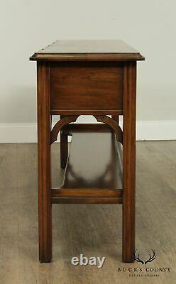 Table De La Console De Cerise De Style Chippendale Harden