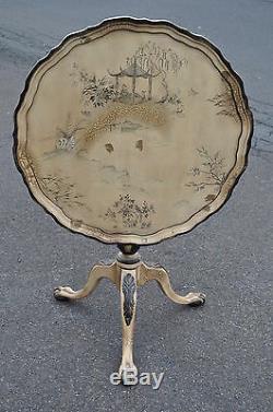 Table De Style Inclinable Style Chippendale Avec Pieds Et Boule Et Pattes