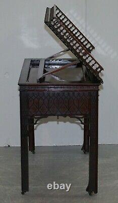 Table De Travail Originale De Thomas Chippendale George III Ahogany Architect's Work Desk