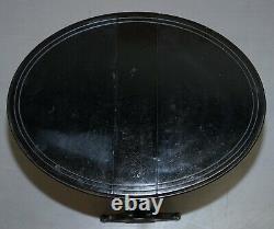 Table Latérale Victorienne Antiquité Extendive Oval Sunderland, Ébonisée