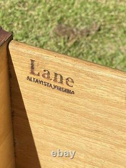Vinage Lane Chinese Chippendale Iltaid Mahogany Fin/side Tableau Retrait