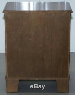 Vintage Acajou Lit Table D'appoint Commode Ou Lampe De Vin End Table Side