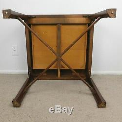 Vintage Baker Chinois Chippendale Tableau Anglais Style Asiatique Pick-up Local Seulement